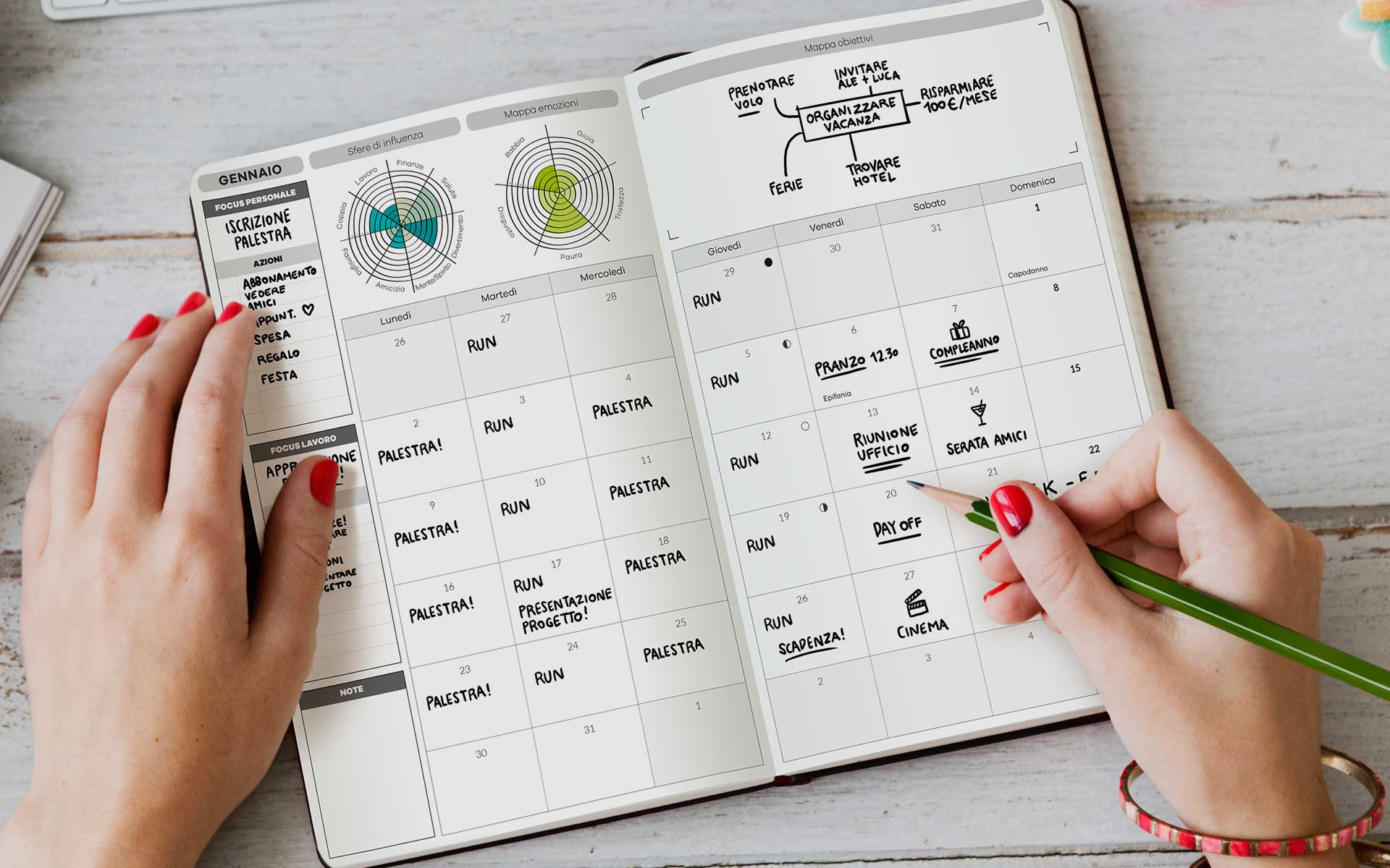Planner Mensile Life Planner