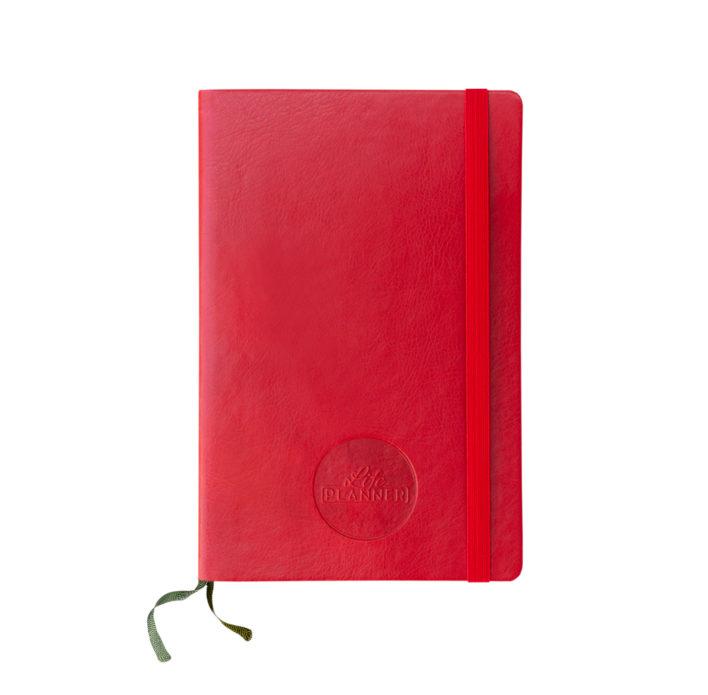 Life Planner 12 Mesi Rossa Grande