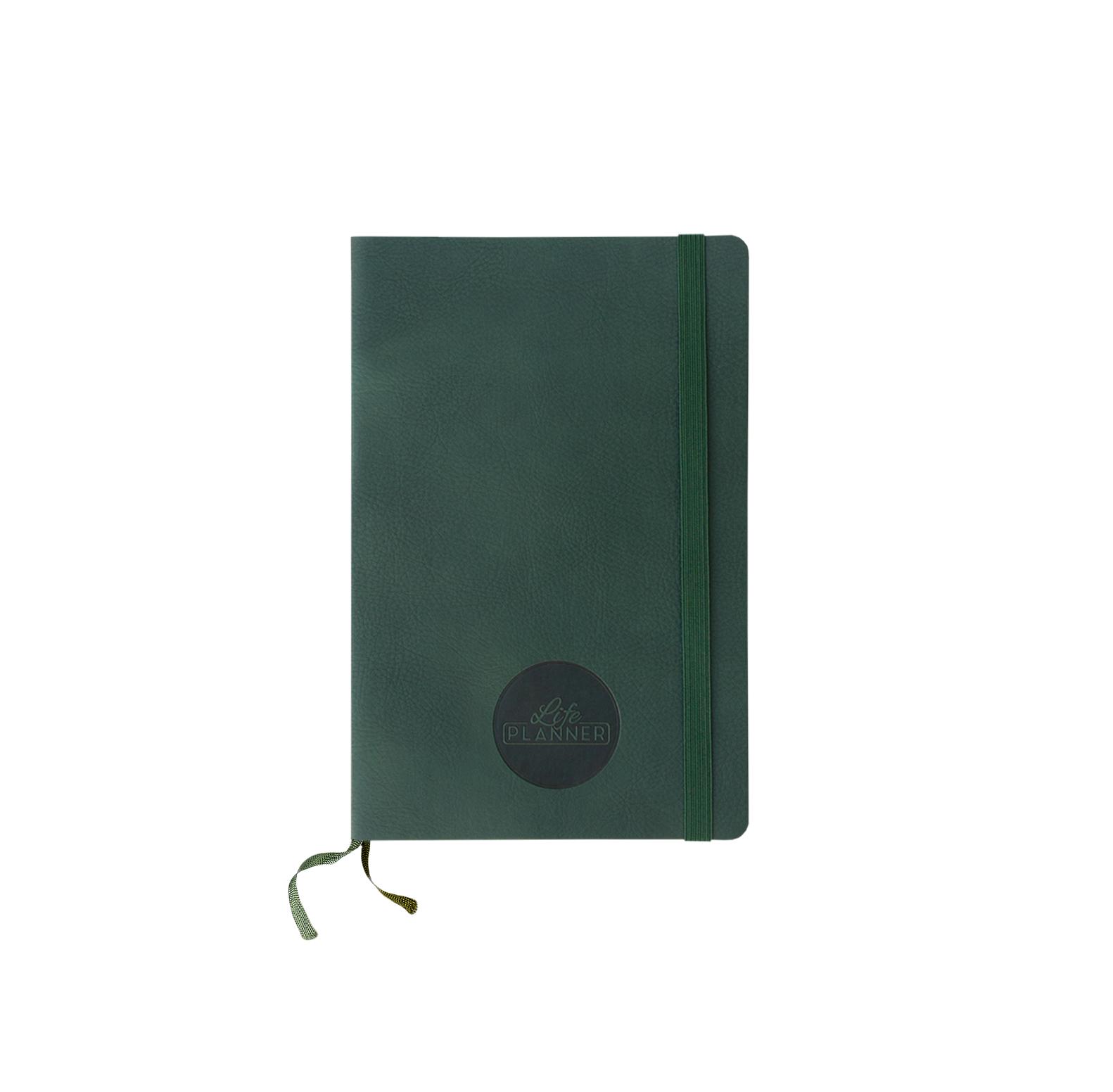 Life Planner 12 Mesi Verde Piccola