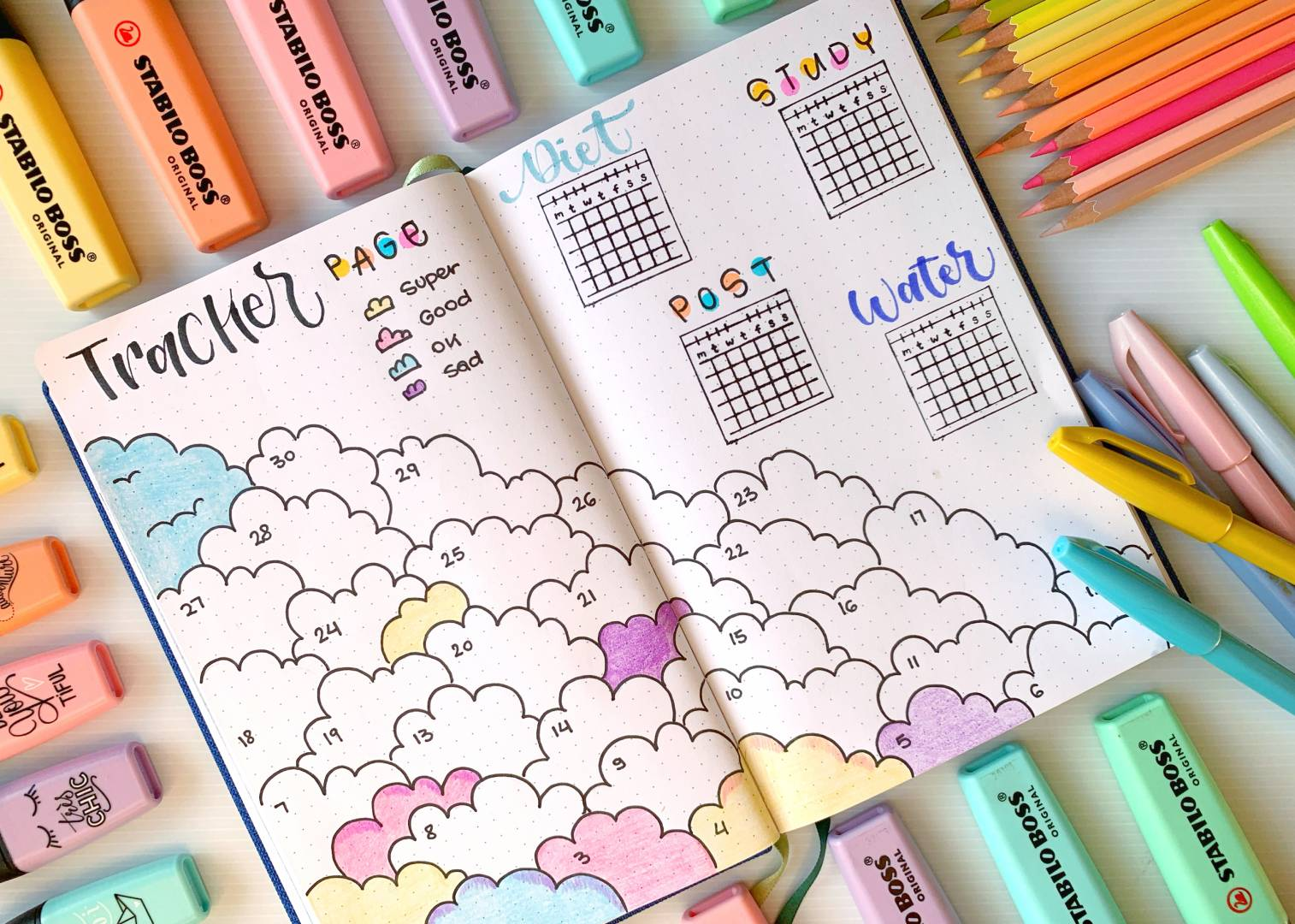 mood-tracker-bullet-journal
